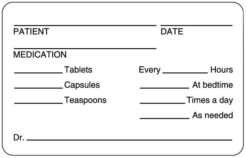 Patient Date Medication Medication Instruction Label 2 34 X 1