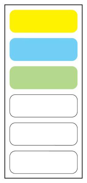 6-label Anesthesia Sheet, 1-1/2