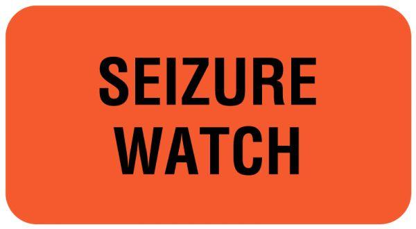 SEIZURE WATCH, Communication Label, 1-5/8
