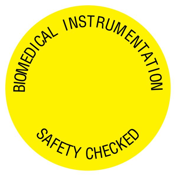 Electrical Equipment Safety Label, 3/4