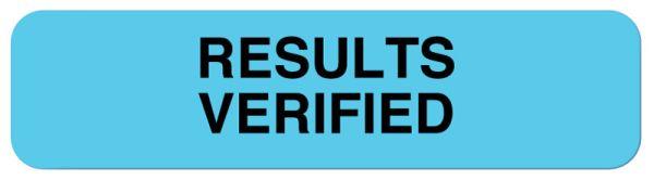 Lab Results Label, 1-1/4