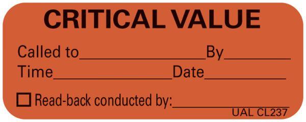 Communication Label, 2-1/4