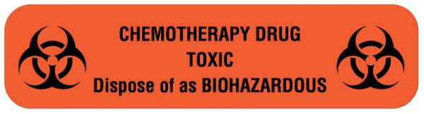 Chemotherapy Agent Label, 2