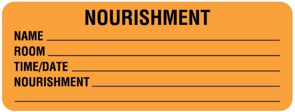 Nourishment Labels, 3