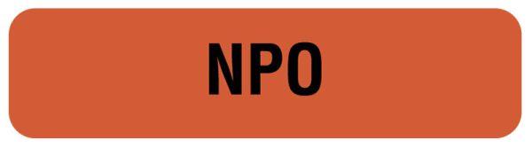 NPO, Nutrition Communication Labels, 1-1/4