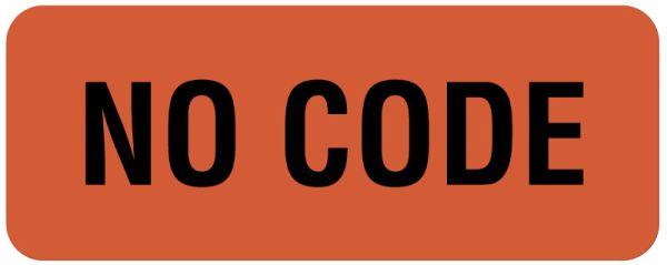 Code Status Label, 1-1/4