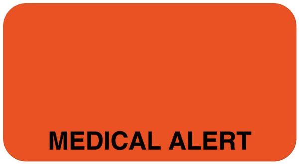 Medical Alert Label, 1-5/8