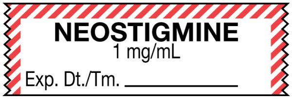 Anesthesia Tape, Neostigmine 1 mg/mL, 1-1/2