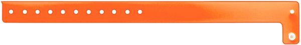 Orange Edgeglow Wristband