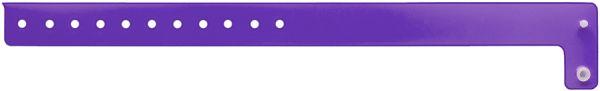 Purple Edgeglow Wristband