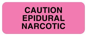 "Medication Communication Label, 2-1/4"" x 7/8"""