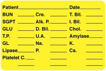 "Laboratory Label, 3"" x 2"""
