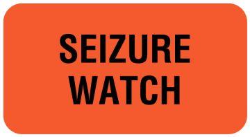 "SEIZURE WATCH, Communication Label, 1-5/8"" x 7/8"""