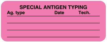 "Antigen Testing Label, 2-1/4"" x 7/8"""