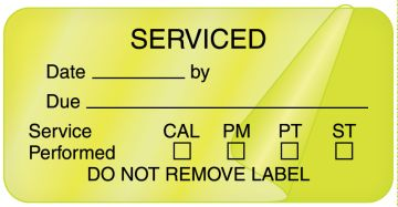 """Electrical Equipment Safety Label, 2"""" x 1"""""""