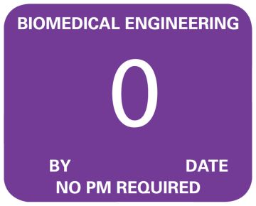 """Biomedical Engineering No PM Required, 2-1/4"""" x 1"""""""