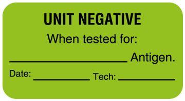 "Antigen Testing Label, 1-5/8"" x 7/8"""