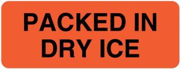 "Bilingual Refrigerate Shipping Label, 3"" x 1-1/4"""
