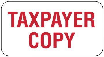 "Payor Identification, 1-5/8"" x 7/8"""