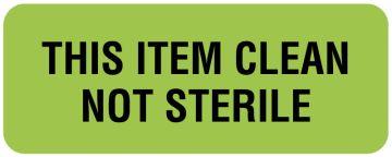 "Sterilization Labels, 2-1/4"" x 7/8"""