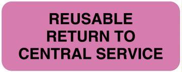 "Central Service Labels, 2-1/4"" x 7/8"""