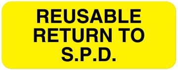 "SPD Label, 2-1/4"" x 7/8"""