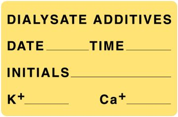 "Medication Label, 4"" x 2-5/8"""