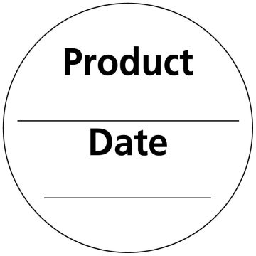 """Inventory Rotation/Incoming Goods Label, 2"""" x 2"""""""