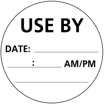 "Inventory Rotation/Incoming Goods Label, 3"" x 3"""