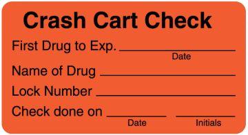 "Pharmacy Communication Label, 3"" x 1-5/8"""