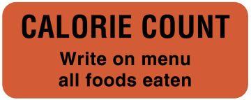 """Calorie Count Labels, 2-1/4"""" x 7/8"""""""