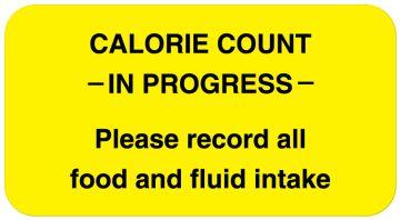 """Calorie Count Labels, 1-5/8"""" x 7/8"""""""