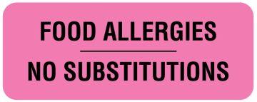 """Nutrition Communication Labels, 2-1/4"""" x 7/8"""""""