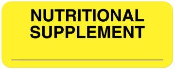 "Enteral/Tube Feeding Nutrition Labels, 2-1/4"" x 7/8"""