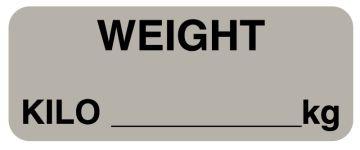 """Weight KILO, 2-1/4"""" x 7/8"""""""