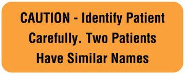 "Communication Label, 2-1/4"" x 7/8"""