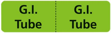 "G.I. Tube Line Identification Labels, 3"" x 7/8"""