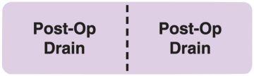 "Line Identification Label, 3"" x 7/8"""