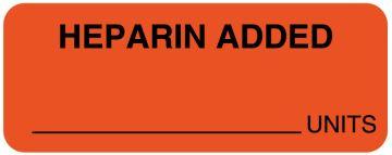 """I.V. Medication Additive Labels, 2-1/4"""" x 7/8"""""""