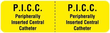 "I.V. Line Identification Label, 3"" x 7/8"""