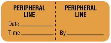 "Line Identification Label, 2"" x 3/4"""
