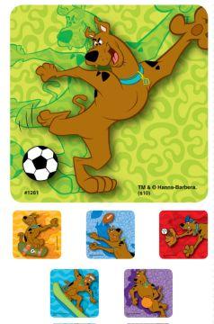 """SCOOBY DOO, Kids' Sticker, 2-1/2"""" x 2-1/2"""""""