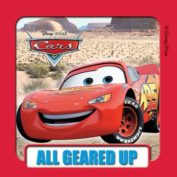 "DISNEY CARS, Kids' Sticker, 2-1/2"" x 2-1/2"""