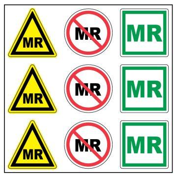 "MRI Safety, 1-1/2"" x 1-1/2"""