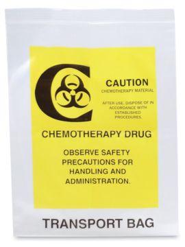 "Chemotherapy Transport Bag, 6"" x 9"""