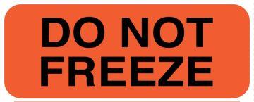 "DO NOT FREEZE, 2"" x 3/4"""
