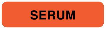 "Serum Label, 1-1/4"" x 5/16"""
