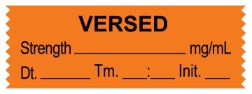 "Anesthesia Tape, VERSED mg/mL, DTI 1-1/2"" x 1/2"""