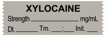 "Anesthesia Tape, XYLOCAINE mg/mL, DTI 1-1/2"" x 1/2"""