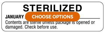 Color-Coded Sterilization Labels
